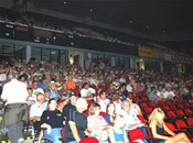 and a capasity crowd at Freedom Hall