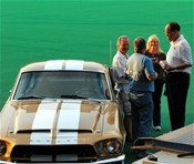 Bobby Vee talks with members of the Derby City Mustang Club