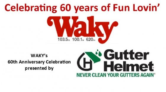 WAKY 60th-Gutter Helmet